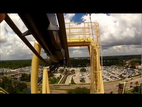 Top 10 Roller Coasters in Florida with HD POVs