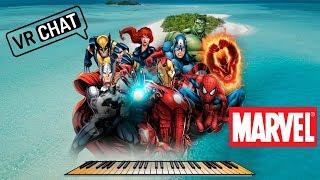Vrchat - Marvel-Symphony 2008 and 2019 ))