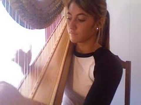 Stairway to Heaven on Harp - full version Video