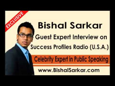 Bishal Sarkar Guest Interview on U.S.A.'s International Success Profiles Radio