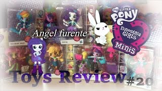 MLP - Equestria Girls Minis&Slumber Party (Toys Review #20)