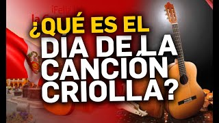DIA DE LA CANCION CRIOLLA