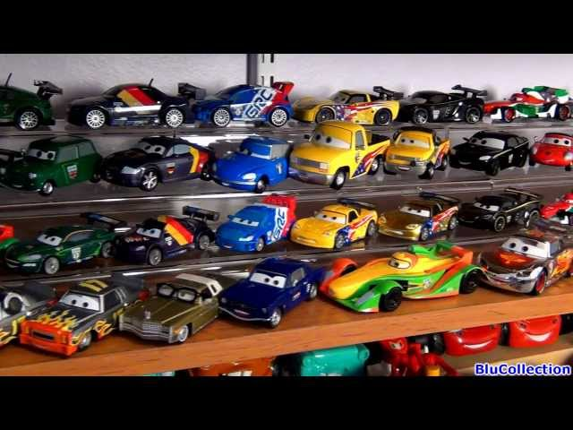 My entire complete disney pixar cars 2 toys collection diecast