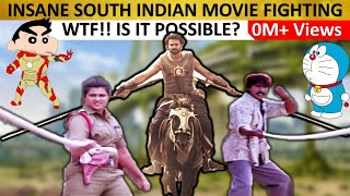 Funny South Indian Movies Fight & Action Scenes | Best Telugu Movie Stunts Comedy Scene in Hindi