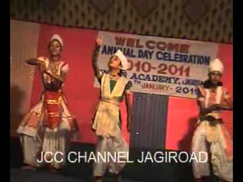 sattriya dance   annual day celebration of indus academy  jagiroad...