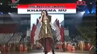 Agnes Monica-Berkibarlah Bendera Negriku National song Of Indonesia