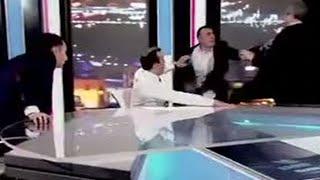 RAW: Georgian deputies brawl on live TV