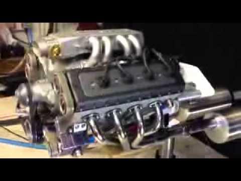 rc engine v8 supercharge