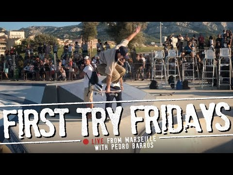 Pedro Barros - First Try Friday... LIVE From Marseille