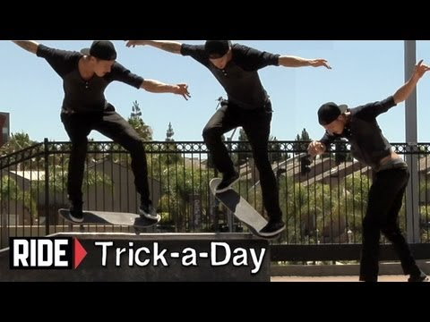 How-To Backside Nosegrind Revert With Chris Troy - Trick-a-Day