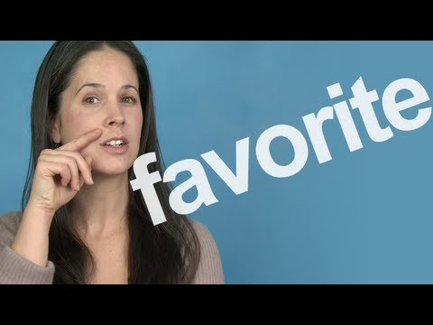 How to Pronounce FAVORITE – American English Pronunciation