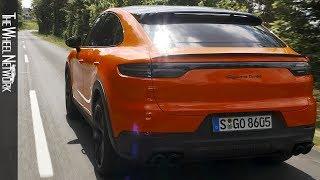 2020 Porsche Cayenne Turbo Coupe | Lava Orange | Driving, Interior, Exterior