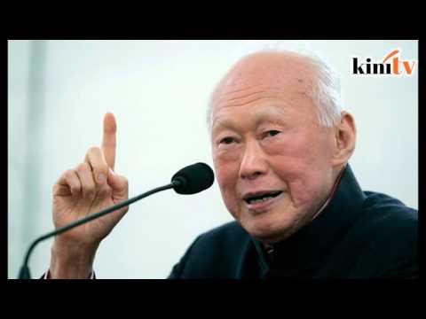 自制视频批李光耀   狮城少年落网