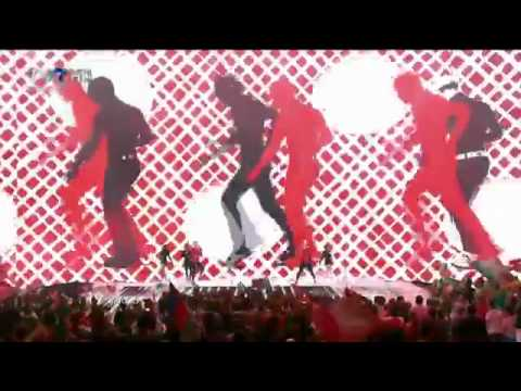 HD Eurovision 2011 Ireland Jedward - Lipstick Semi-Final 2