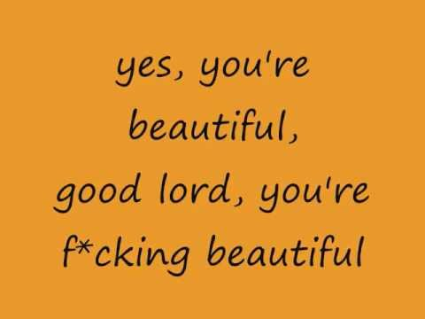 Mariah Carey - Beautiful (lyrics on screen)