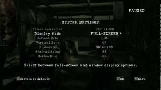 Resident Evil 5 1080p on AMD FX4100 HD Radeon 6770