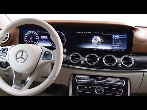 Nov mercedes benz t dy e m dotykov volant i autopilota for Mercedes benz autopilot