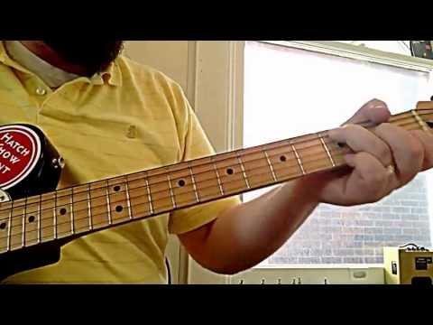TNT Bluess Corner E8.5:  My Sticker Guitar - today we review...