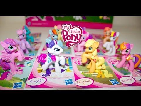 Coleccion de My Little Pony| 12 MLP Collection Set| Bolsitas Sorpresa|Mundo de Juguetes