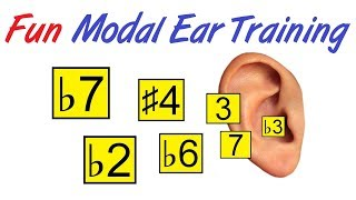 Fun Modal Ear Training - Finally Hear The Difference Between Modes
