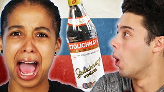 Americans Try Russian Drinks