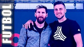 Leo Messi & Football Tricks Online (Trucos, Goles & Jugadas de Fútbol) - Botas Red Limit Messi 16