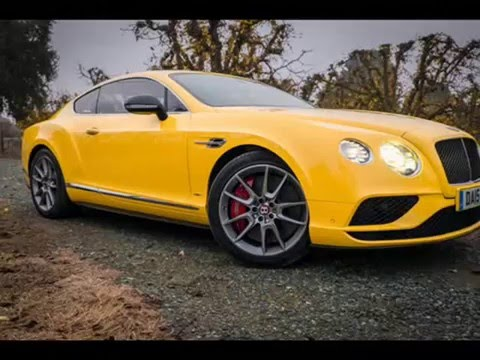 2016 Bentley Continental GT V8 S : Review