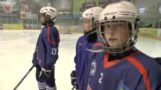 Сергей Золотов провел тренировку для воспитанников хоккейной школы Высокогорского района