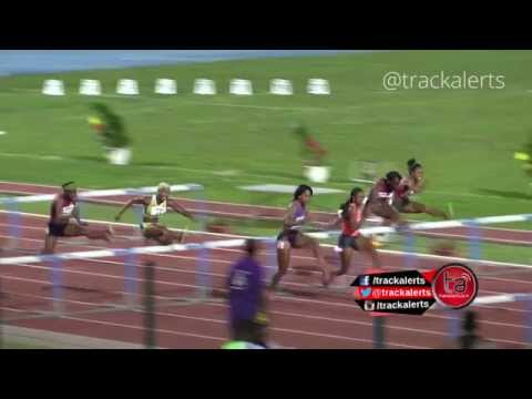 Nelvis beats Rollins in Guadeloupe 100H