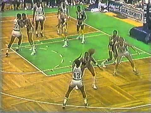 08.02.1984.- Lakers@Celtics: Finals Preview In Boston Garden (Larry Bird vs Magic Johnson)