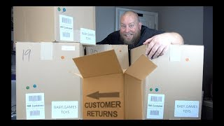 I bought a $1,204 Amazon Customer Returns TOYS  Pallet / Mystery Boxes