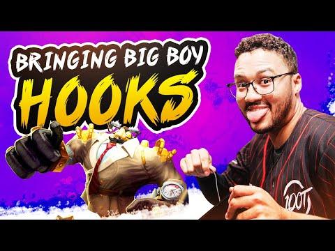 BRINGING THE BIG BOY HOOKS!!   APHROMOO