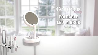 FOLDABLE LED MIRROR CC-9050