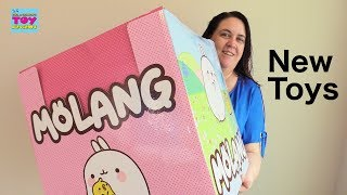 Molang Piu Piu Toys Push N Peel Pops Surprise Charm Review | PSToyReviews