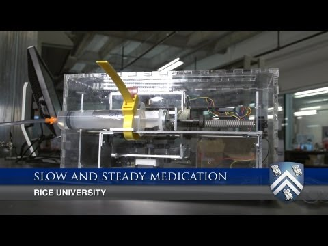 Rice University seniors design device to regulate drugs for heart-attack and stroke patients