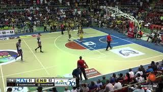 XXVI Torneo de baloncesto Superior de la Vega CLUB LA MATICA VS CLUB ENRIQUILLO