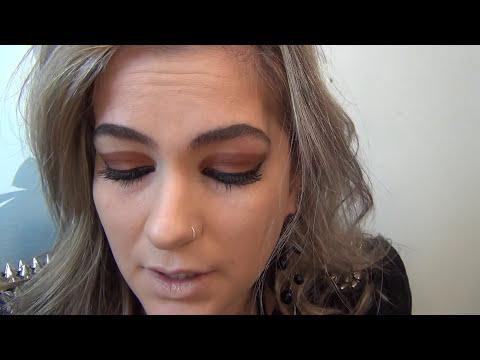 Maquiagem da Megan de Geração Brasil por Alice Salazar