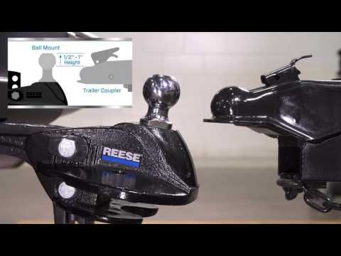 Installing the Reese® STEADi-Flex® Sway Control & Weight Distribution Hitch