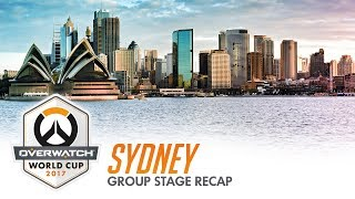 2017 Overwatch World Cup | Sydney Group Stage Recap