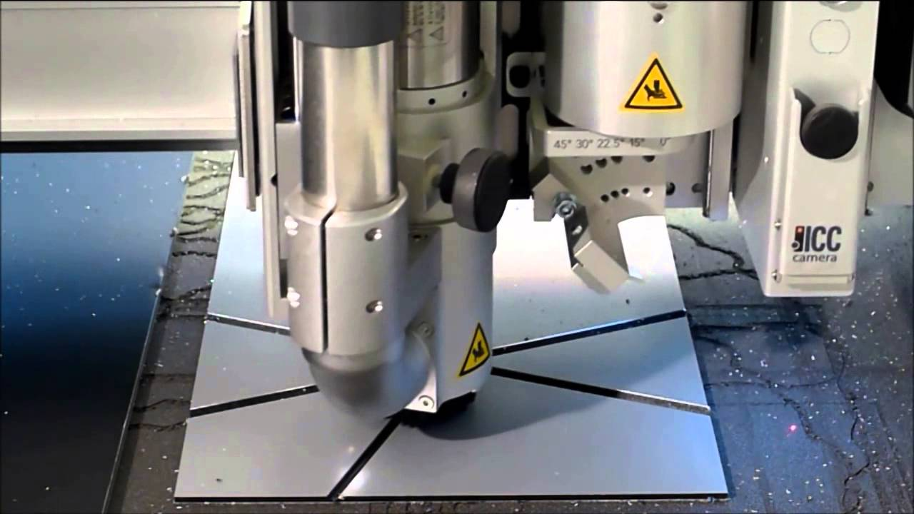 Cnc Routing Of Dibond By 3a Composites Youtube