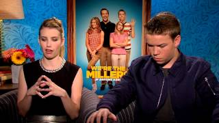 We're The Millers - Emma Roberts & Will Poulter Interview - Official Warner Bros. UK
