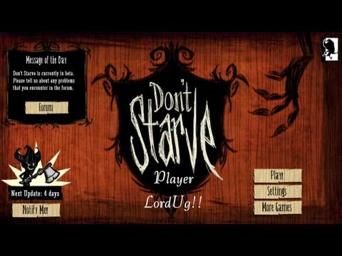 Don't Starve Let's Play -  Preparing for cave exploration!