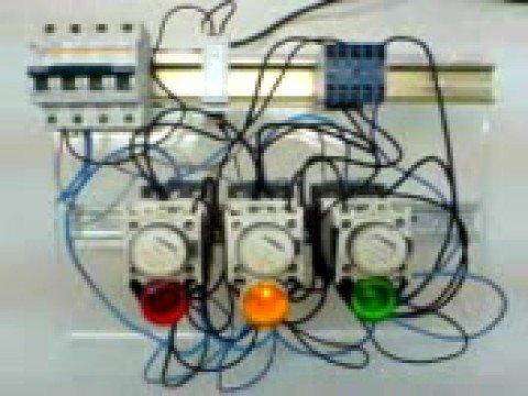 Contactor semaphore semaforo