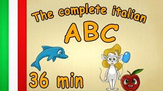 36 min - The complete italian ABC - learn italian