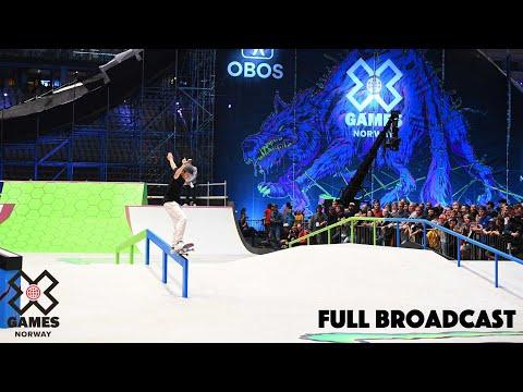 Nordic Men's Skateboard Street Qualifier | X Games Norway 2019