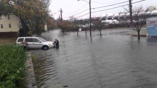 Hurricane Sandy Greenwich Monday 1:00pm