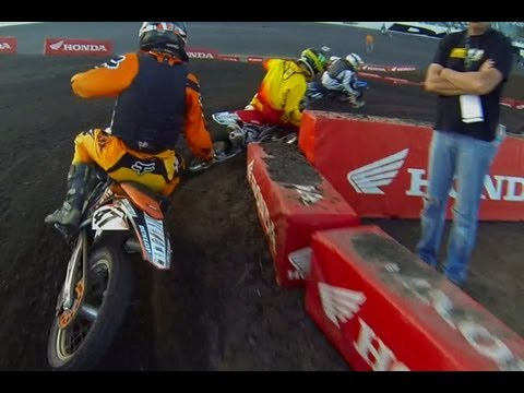 HELMET CAM: Tyler Kirschner - Schoolboy 2 Heat Race (RC Daytona Amateur SX)