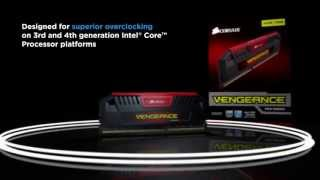 Corsair Vengeance Pro Series High-performance Memory Introduction
