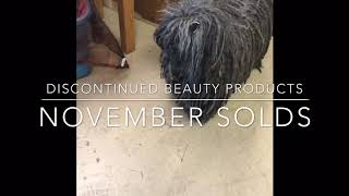 Sample Of Discontinued Beauty Products That Sold On eBay & Mercari In November