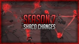 PBE REWORK - Shaco Spotlight - Shaco Update - Patch 6.22 - Season 7 - The Shagod